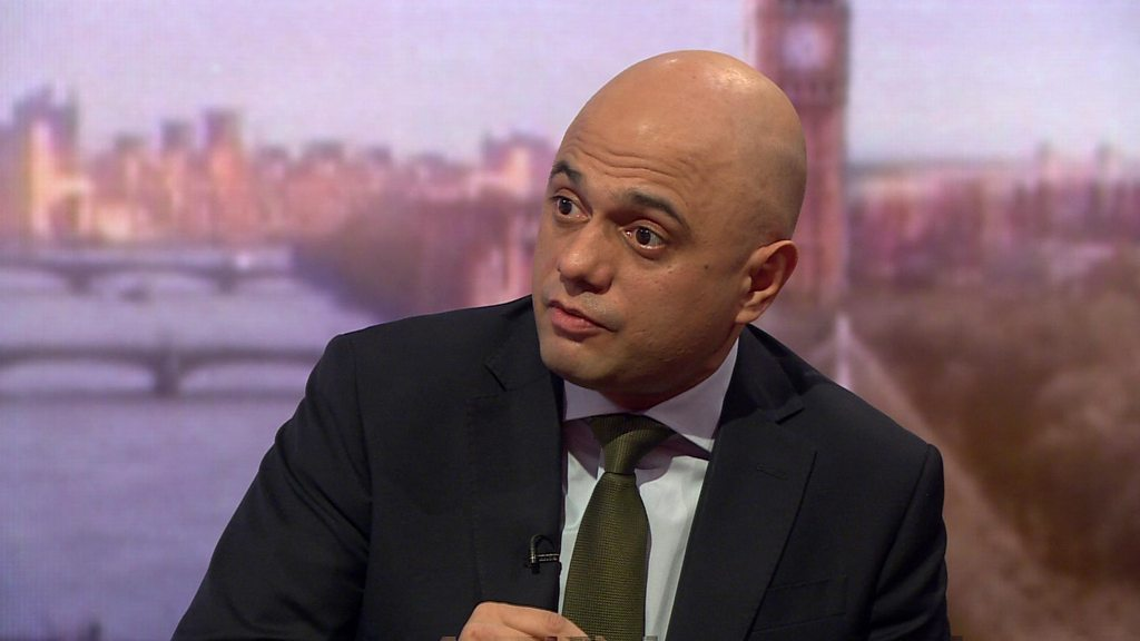 Sajid Javid says alternative Brexit backstop arrangement 'can be done'