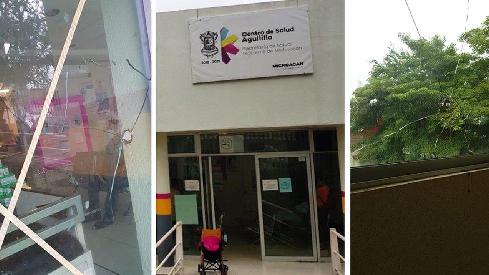 Centro de Salud de Aguililla