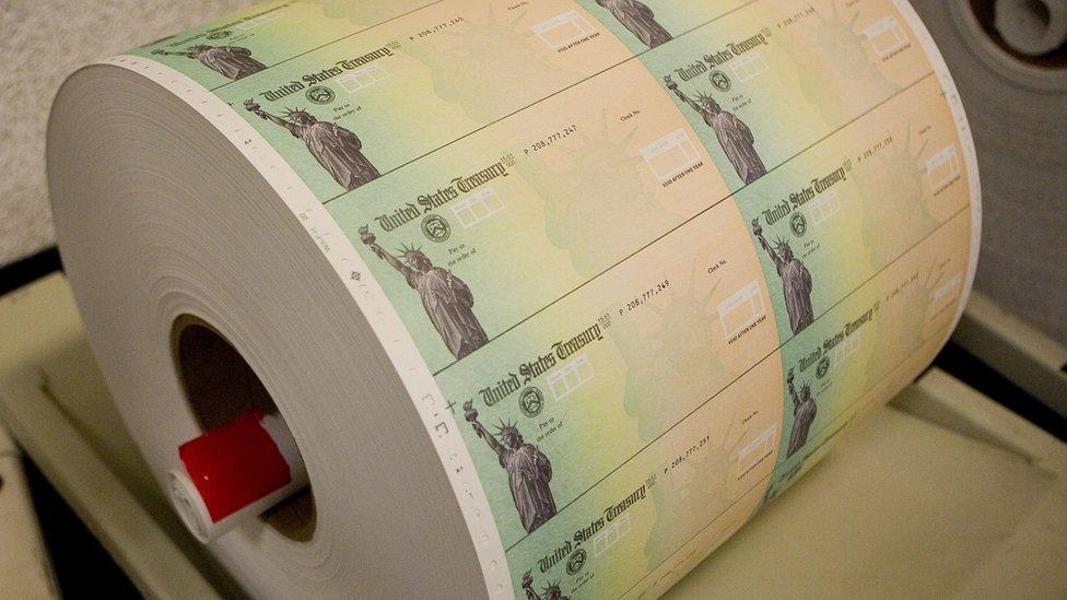 Cheques del Tesoro.