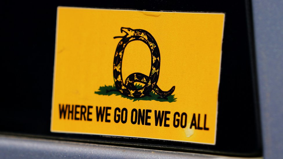 What S Behind The Rise Of Qanon In The Uk Bbc News