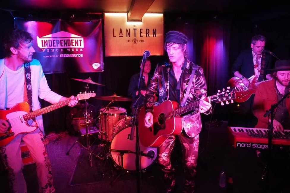 The Byson Family performing at The Lantern