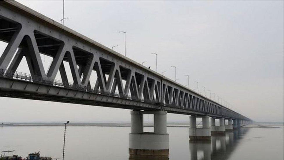 دریائے برہمپتر پر پل