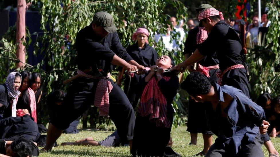 ضحايا كمبوديا