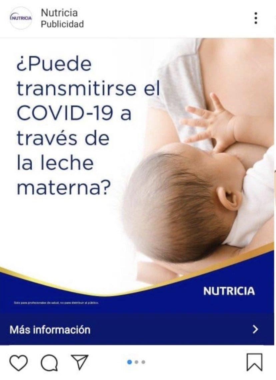 Publicidad de Nutricia