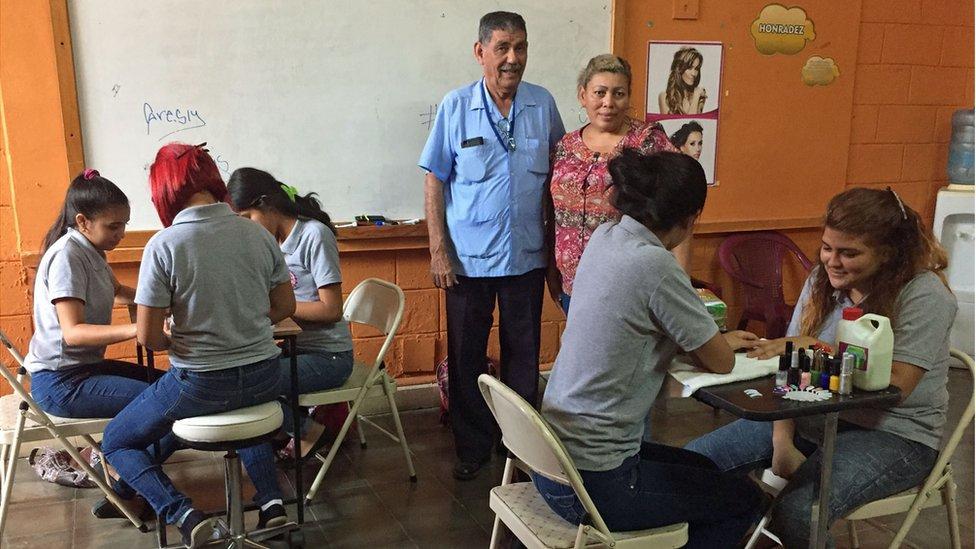 Roger Castro, director del Instituto Técnico Chamelecón