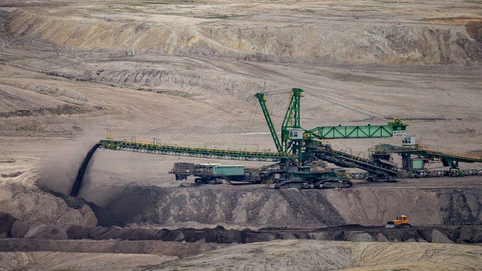Lignite mining at Turow, Poland, 25 May 21