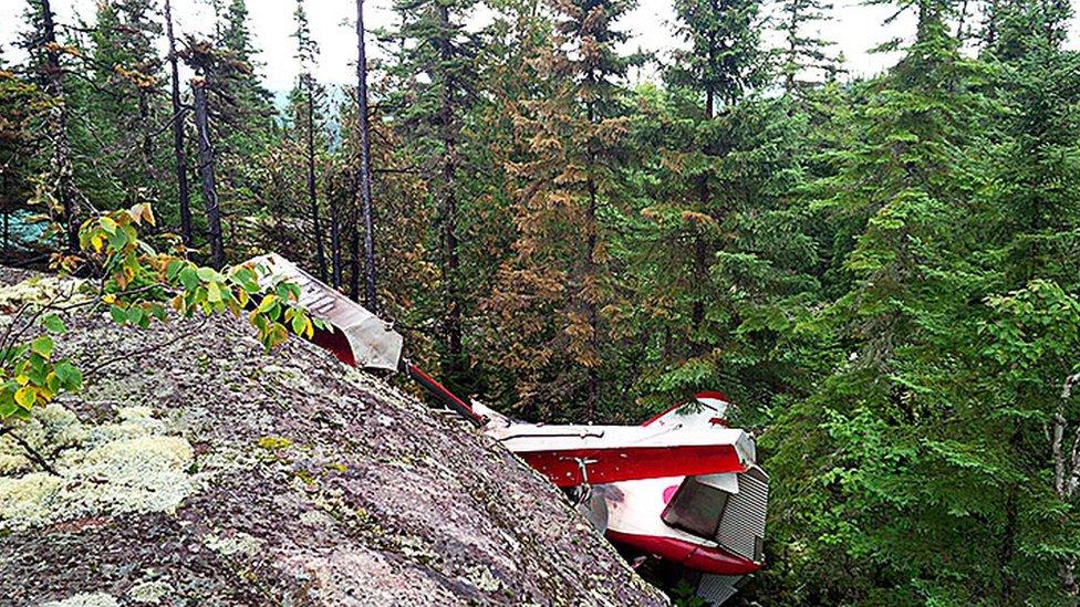 Quebec seaplane crash