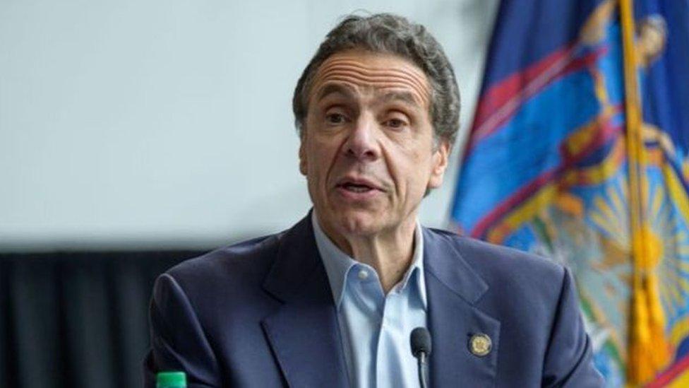 كشف حاكم الولاية أن نيويورك، بؤرة تفشي كورونا في الولايات المتحدة، شهدت أكبر حصيلة وفيات في غضون 24 ساعة