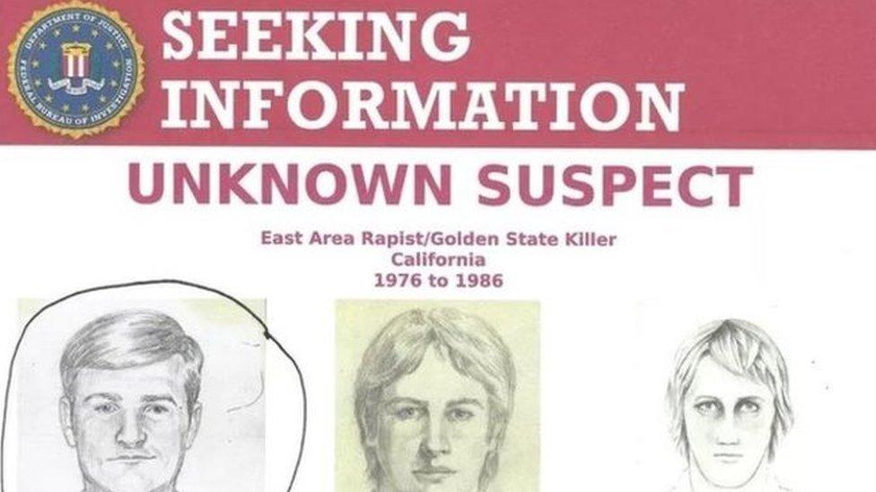 Foto de la policía ofreció en su momento una recompensa a quien pudiera dar información sobre el paradero del sospechoso.