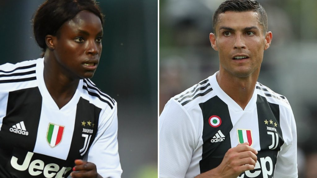 Ronaldo feels he can progress at Juventus and so do I - Aluko