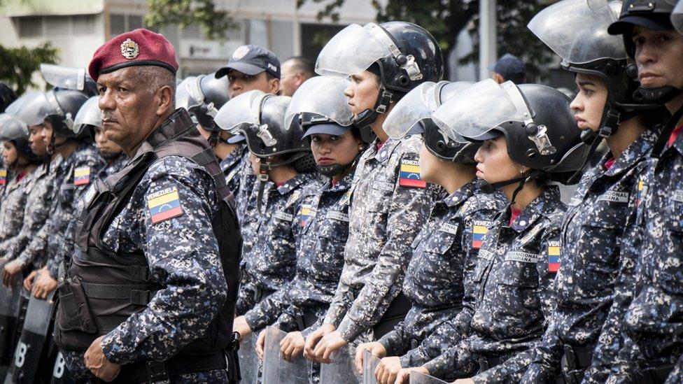 Policía Bolivariana de Venezuela