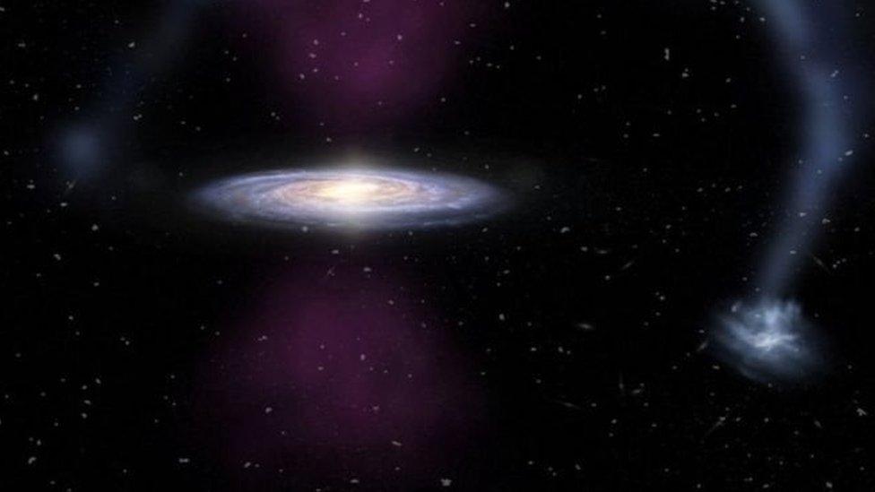 Центр Чумацького Шляху вибухнув 3,5 млн років тому