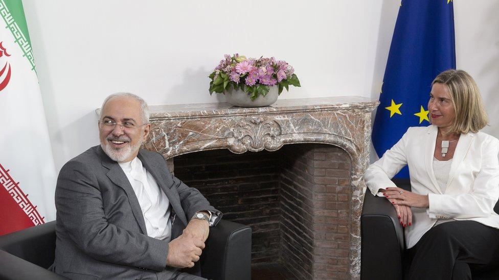 إيران ترفض الاتهامات وتقول إن هدفها إفساد علاقة طهران بأوروبا
