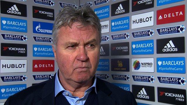 Chelsea interim boss Gus Hiddink