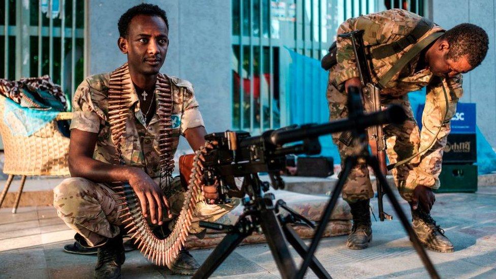 جنود إثيوبيين