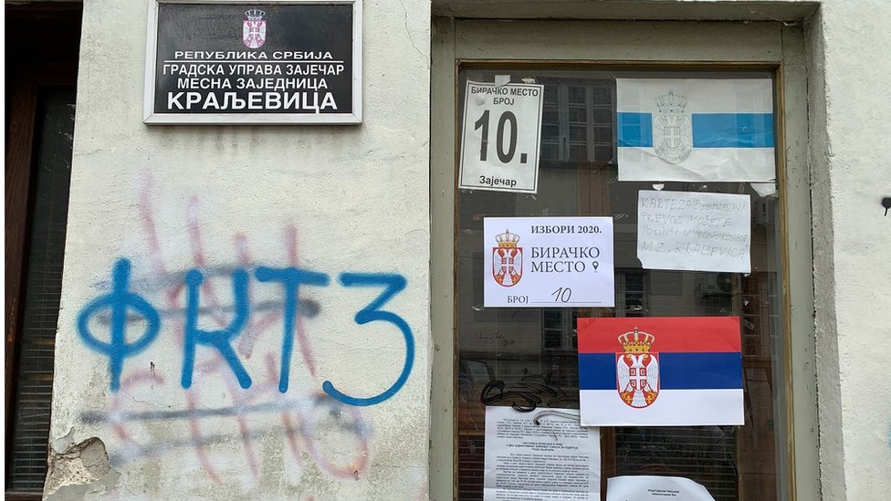 Jedno od biračkih mesta u Zaječaru
