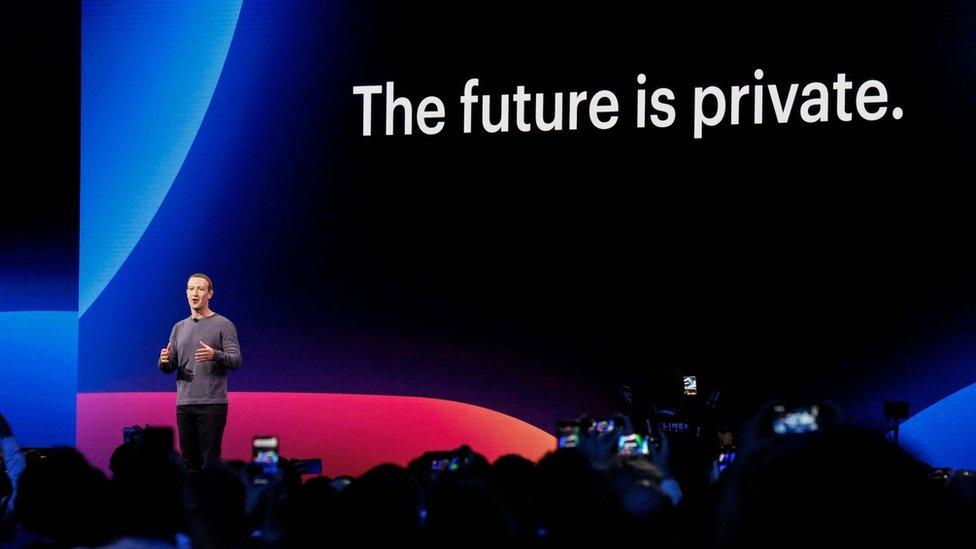 Mark Zuckerberg en la conferencia con desarrolladores esta semana en California.