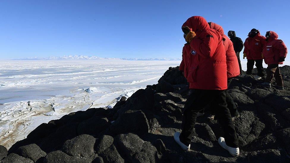 Stanica Mekmardo, Antarktik