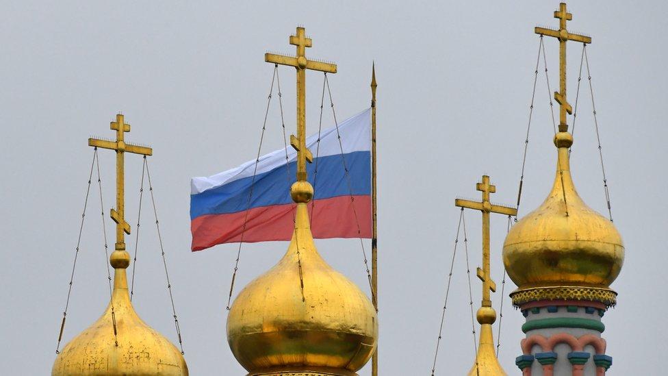 Catedral ortodoxa en Rusia