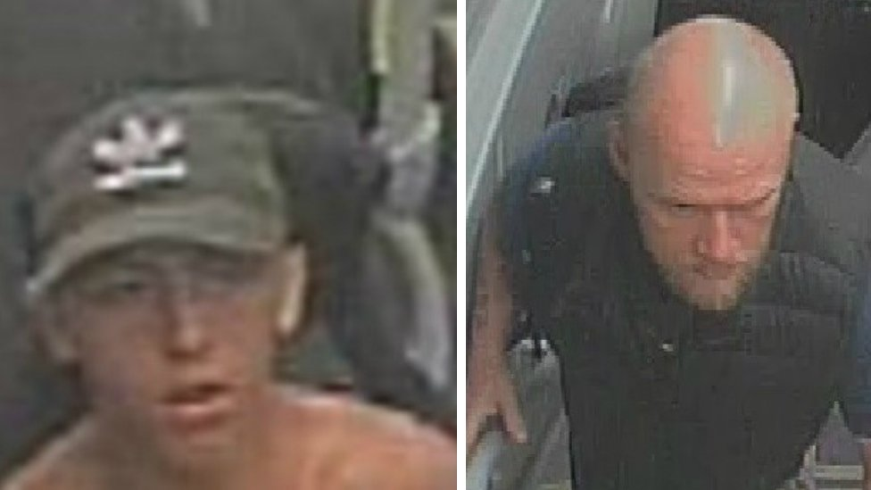 The two bus passengers who may be key witnesses