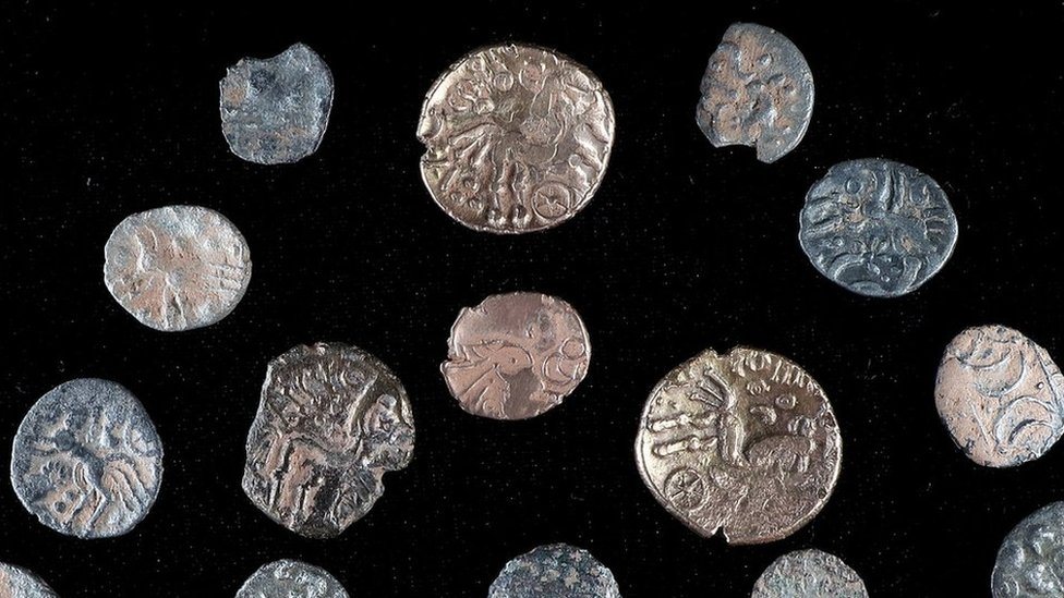 Mystery of Shropshire Iron Age coin hoard detectorists