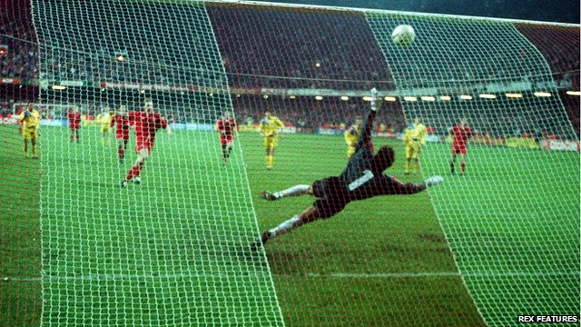 Romania end Wales' 1994 World Cup dream