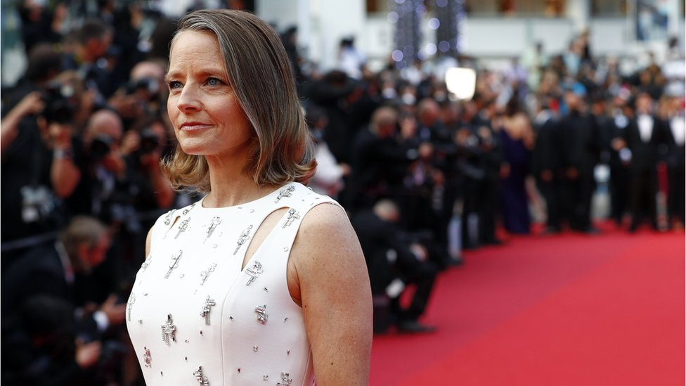 Jodie Foster at Cannes 2021