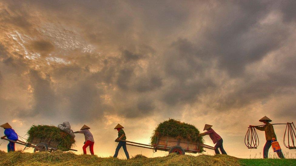 Nam Din je tradicionalno poljoprivredna regija smeštena južno od plodne delte Crvene reke