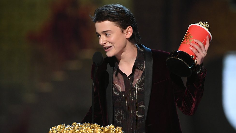 Actor Noah Schnapp, who plays Will Byers in Stranger Things