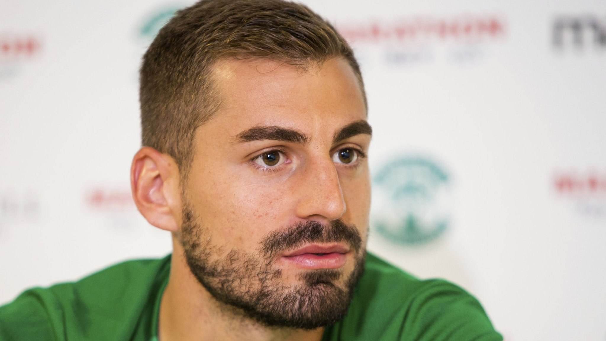 Hibernian: Charalampos Mavrias plots lengthy stay at Easter Road