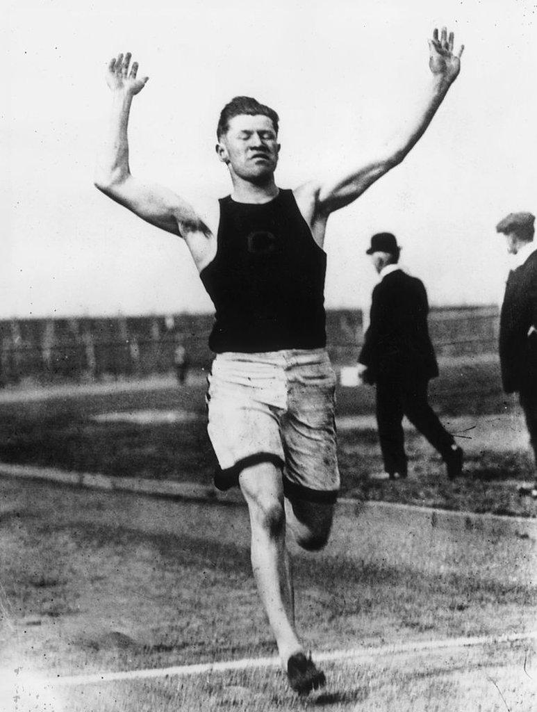 Jim Thorpe en 1912.