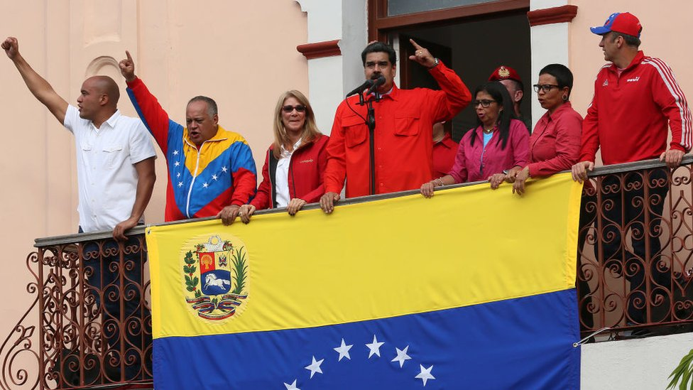 Nicolás Maduro anunció la ruptura de relaciones diplomáticas con Estados Unidos.