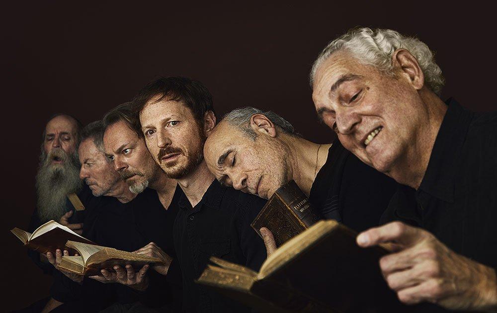 Recreating Gustave Doré, The Neophyte. Peter Van Norden, Tony Amendola, Leo Marks, Bo Foxworth, James Sutorius, Frank Weitzel