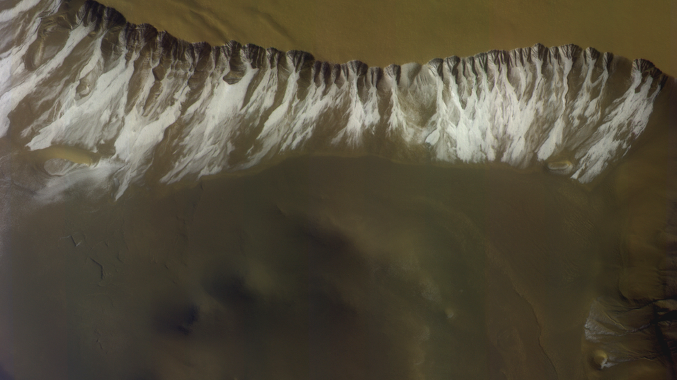 Residual carbon dioxide ice deposits in the Sisyphi Planum region