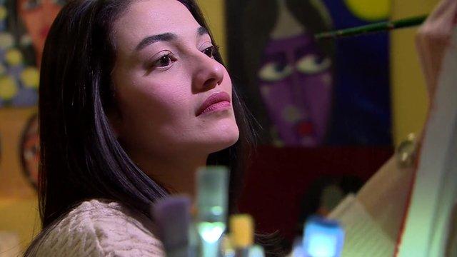 Muniba Mazari spoke with the BBC's Shaimaa Khalil