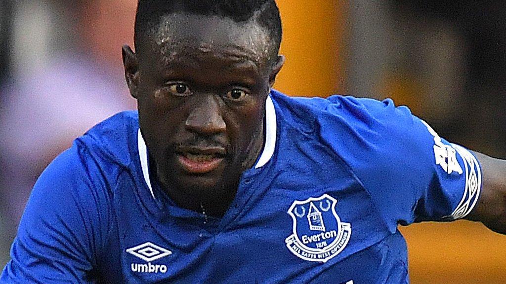 Oumar Niasse: Cardiff City sign Everton striker on loan