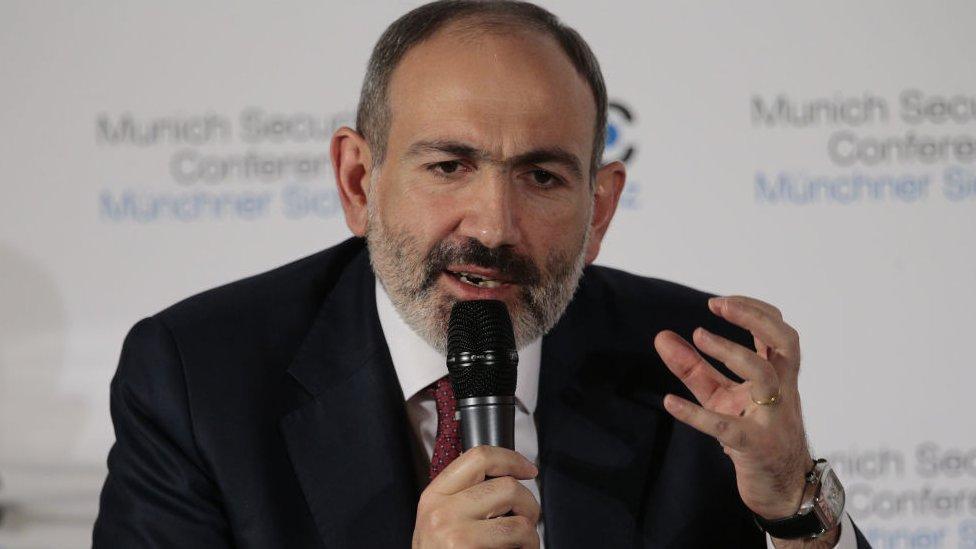 Primer ministro de Armenia, Nikol Pashinyan.