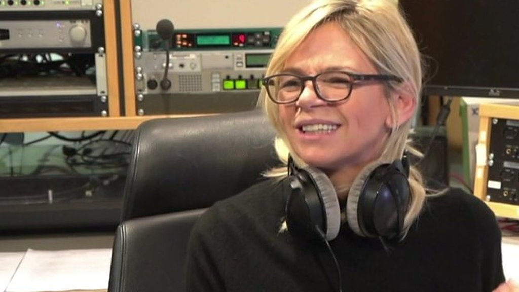 Zoe Ball starts her role as BBC Radio 2's Breakfast presenter.
