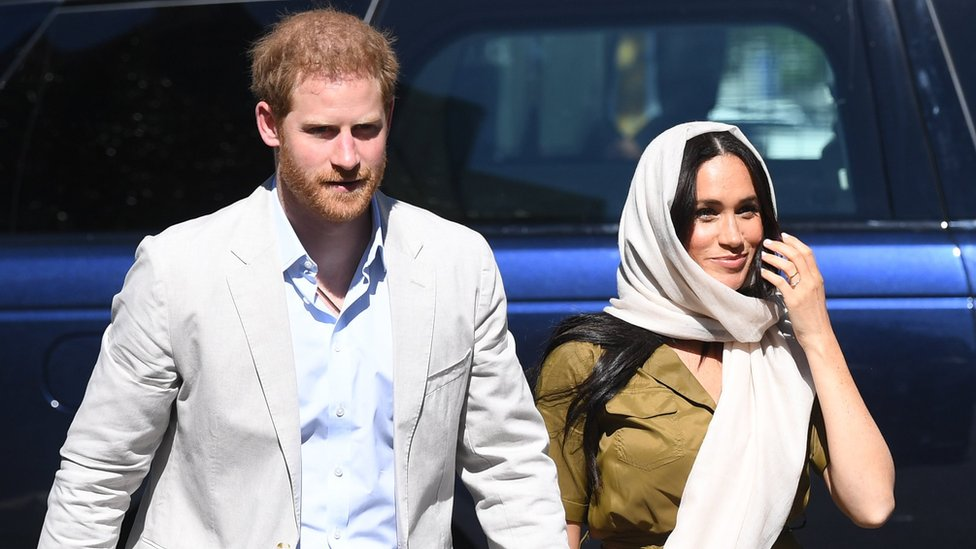 Prince Harry and Meghan in South Africa