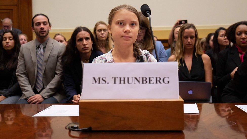 Greta Thunberg ABD kongresi Temsilciler Meclisi Dış İlişkiler Komisyonu oturumunda