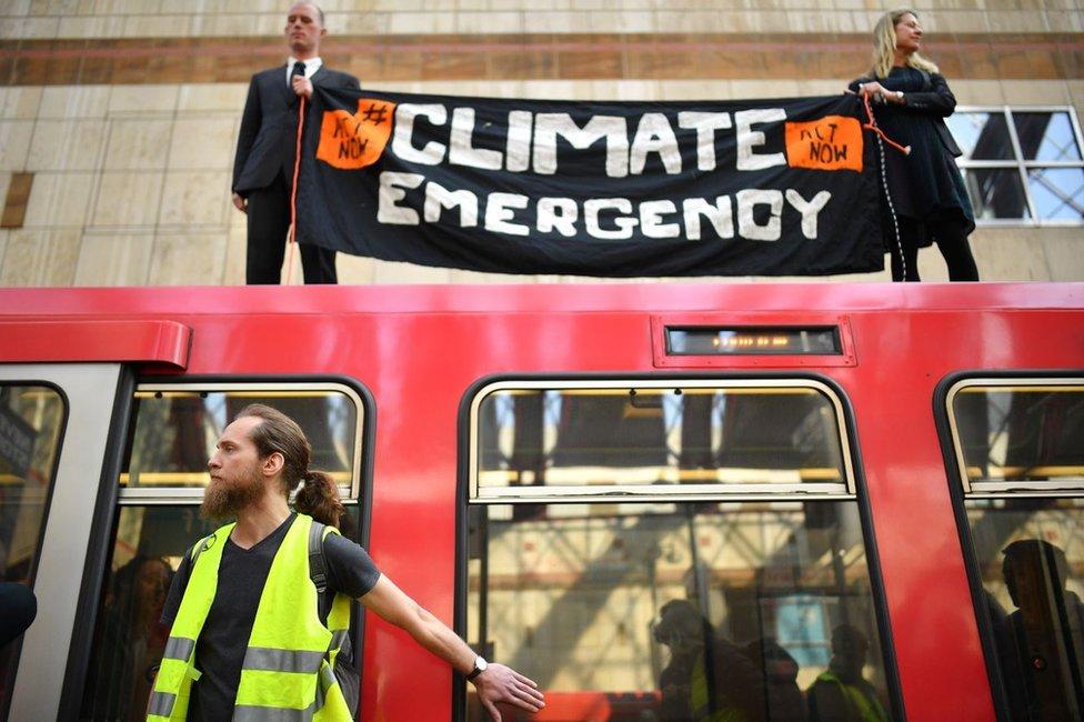 klimatski protest u londonu