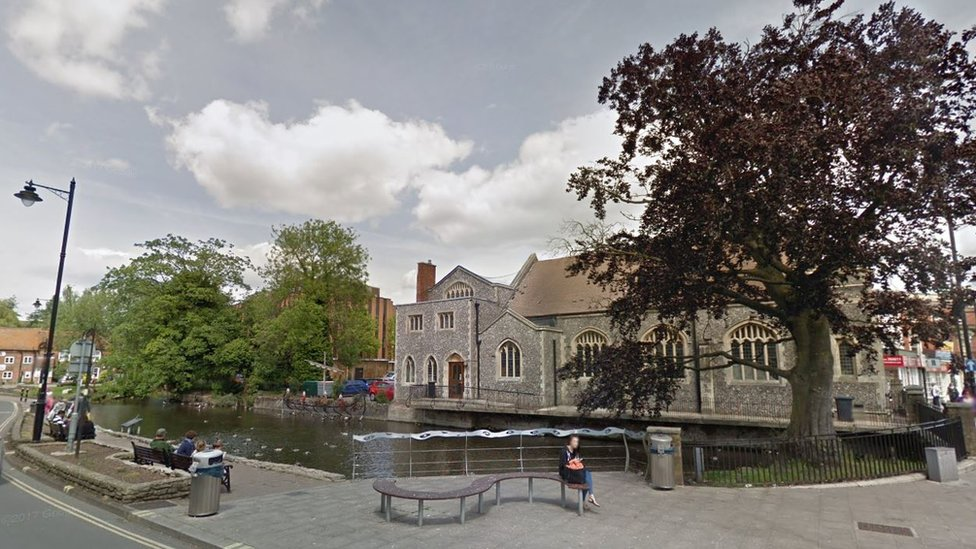 Andover death: Murder arrest after woman found in river