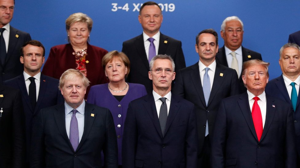 زعماء الدول الأعضاء في الناتو