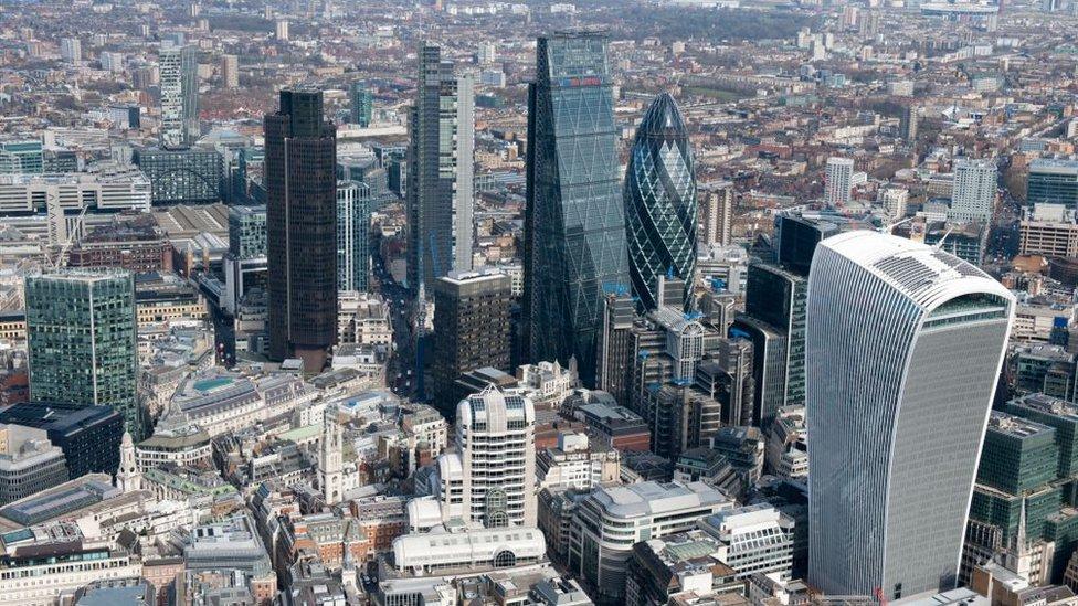 Vista áerea de la City