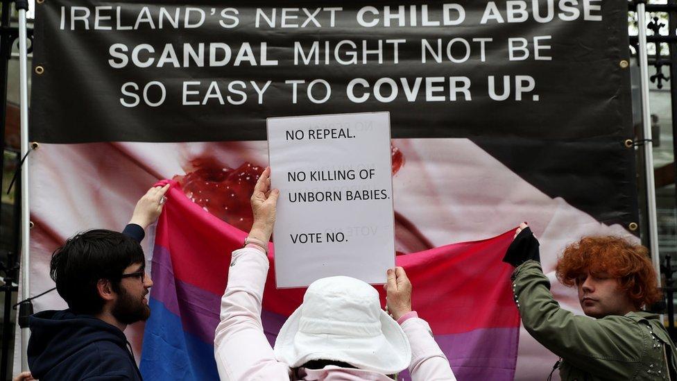 Irish abortion referendum campaigners