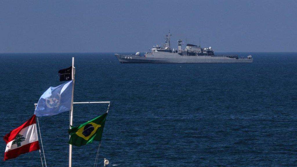 Lebanon and Israel to hold 'historic' maritime border talks thumbnail