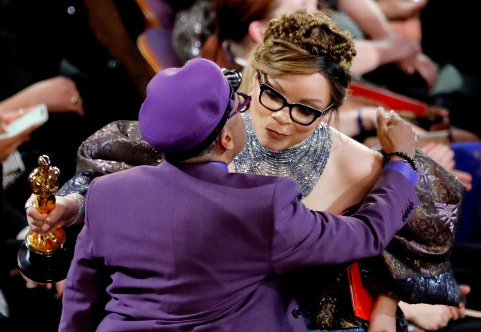 Ruth Carter and Spike Lee