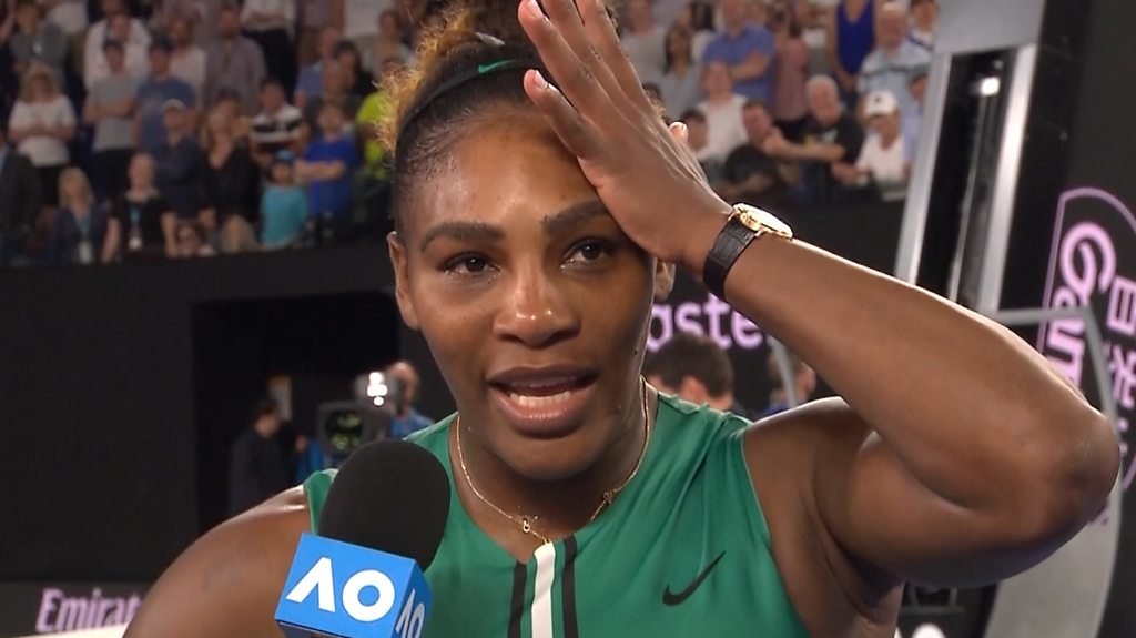 Australian Open: Serena Williams admits she knows all the words to Frozen