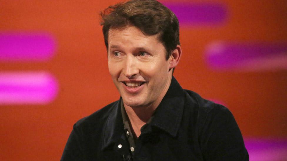 BBC News - Coronavirus: James Blunt to host hospital radio show