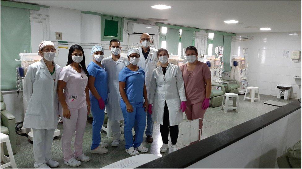 Equipe da Clínica de Itabaiana